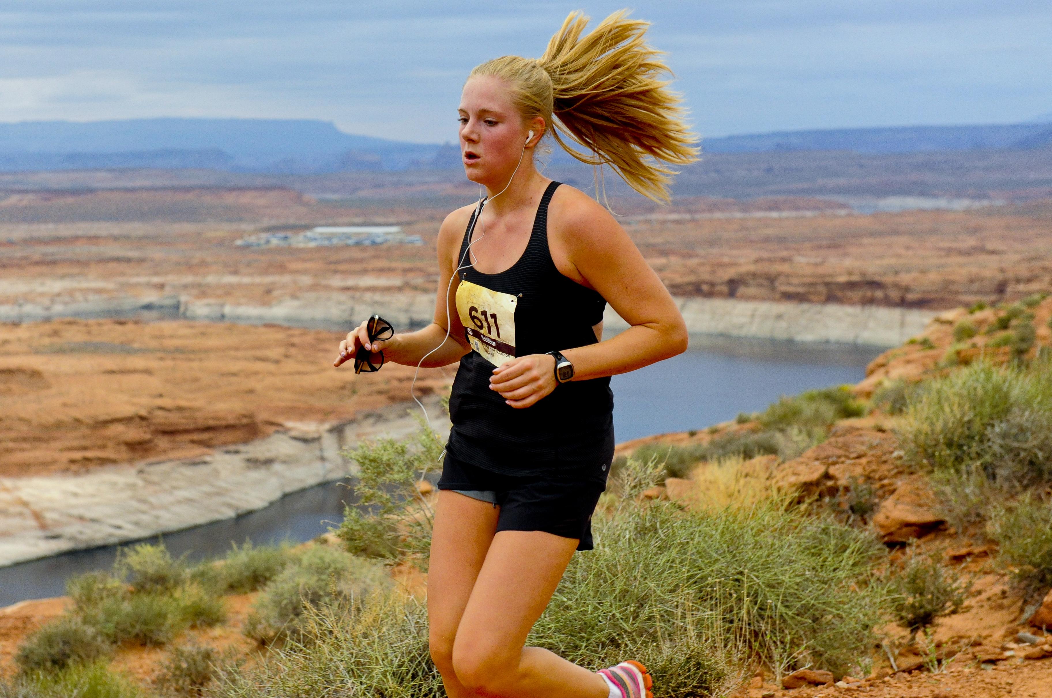 Lake Powell Half Marathon Training Active At Altitude