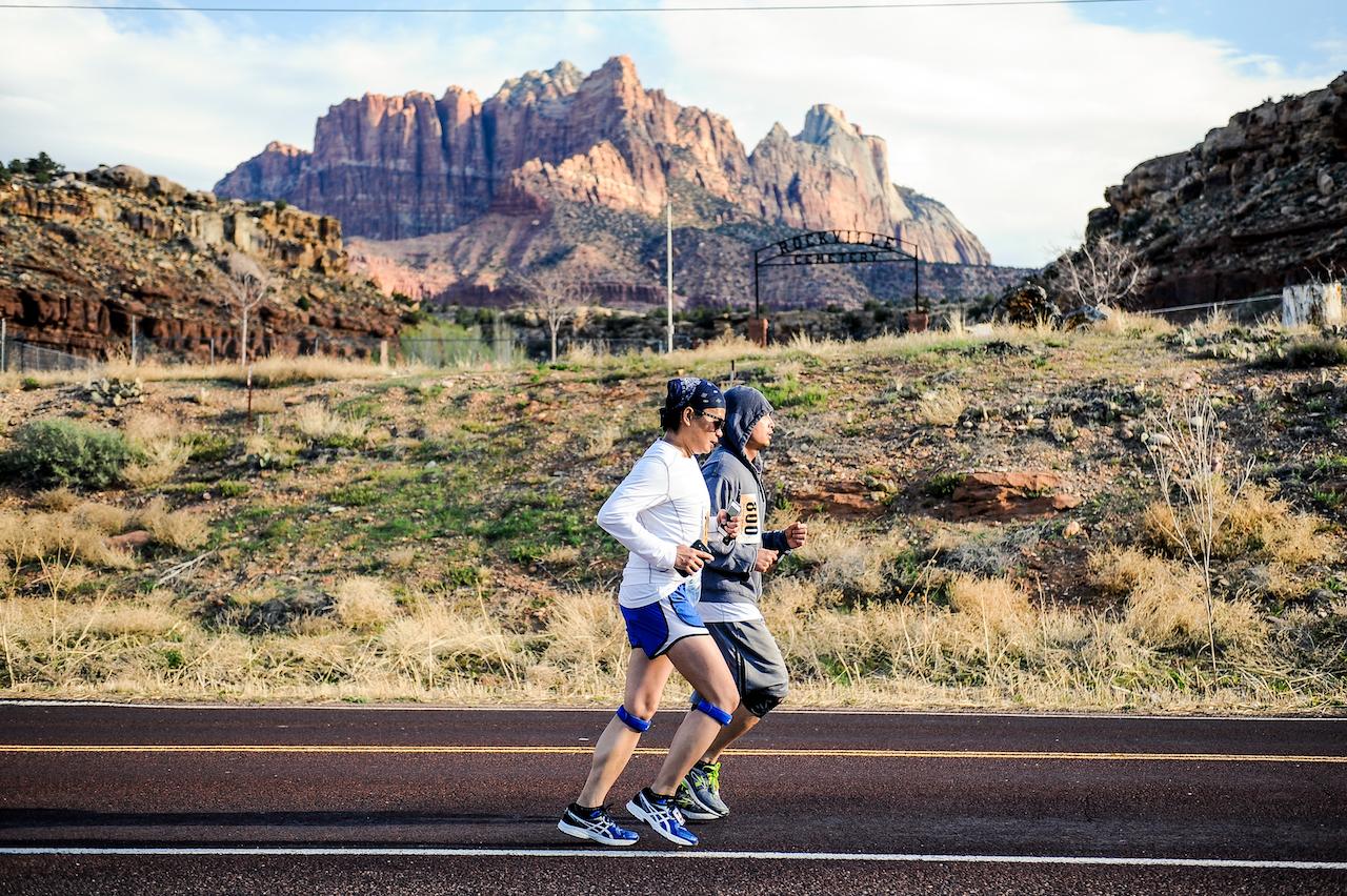 Zion Half Marathon Training Active At Altitude